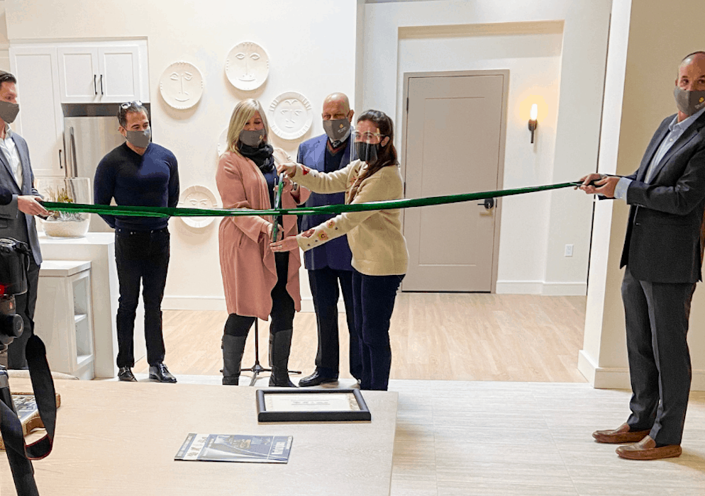 The Variel Discovery Center Ribbon Cutting Ceremony